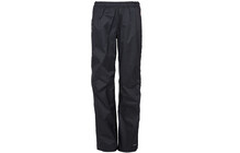 Vaude Women's Birch Rain Zip Pants black